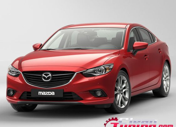 The New Mazda 6 at Moscow Auto Show   CleanTuning.com