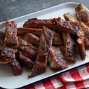 Kansas City Style Pork Ribs Recipe : Patrick and Gina Neely : Recipes : Food Network
