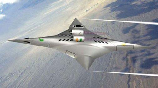 Radical bi-directional flying wing design gets NASA funding