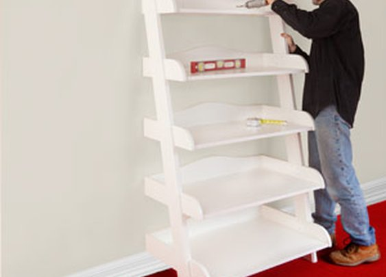 Ladder Shelf Step-by-Step Plans