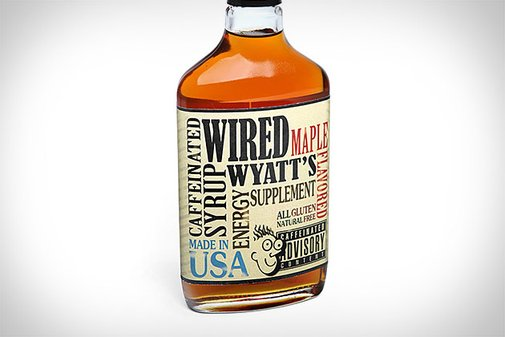 Wired Wyatt's Caffeinated Maple Syrup   Uncrate
