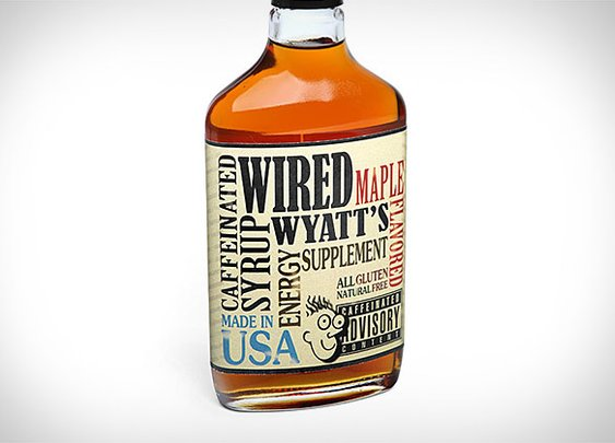 Wired Wyatt's Caffeinated Maple Syrup | Uncrate