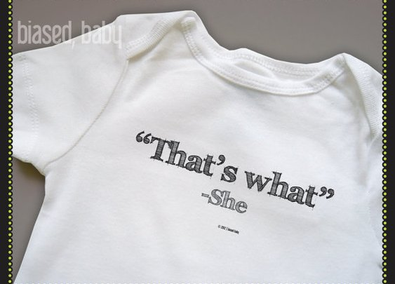 That's What She Said on Etsy
