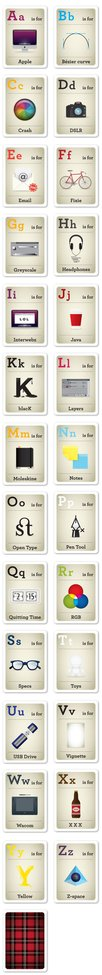 Design nerd flash cards.