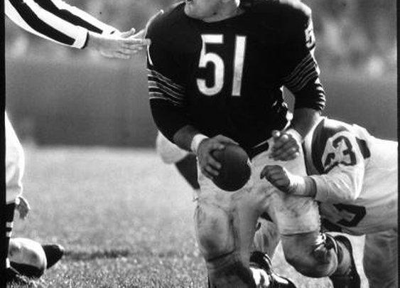 Dick Butkus is mad, 1965