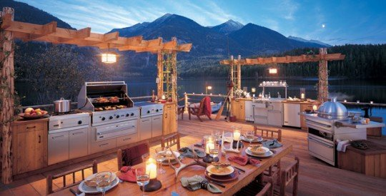 4 Steps to Creating an Outdoor Kitchen - Timber Home Living