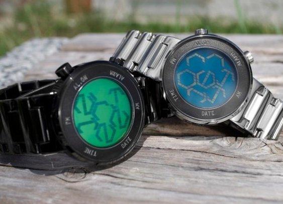 TokyoFlash unveils Kisai Zone LCD watch