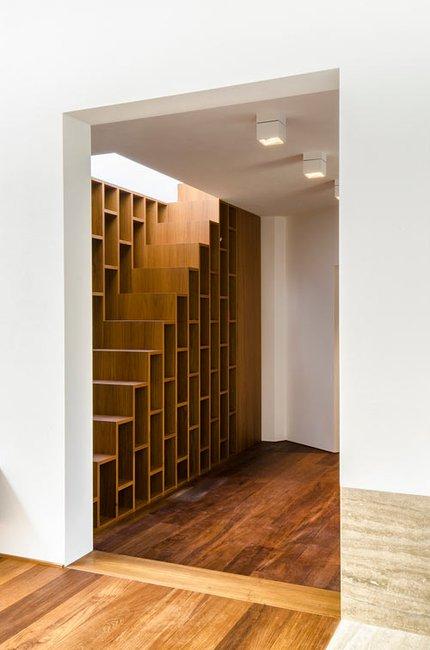 book/stair case