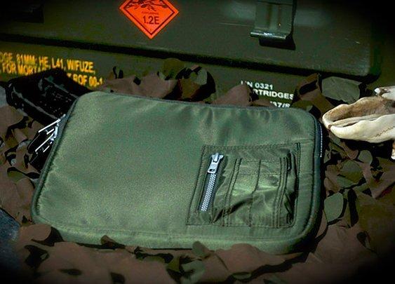 Meshmedium MA-1 Bomber iPad Sleeve | Uncrate