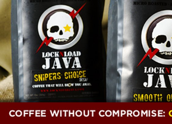LOCK-N-LOAD JAVA - PREMIUM COFFEE - VETERAN OWNED