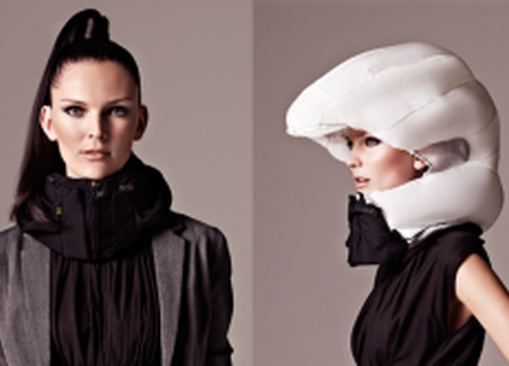 The Invisible Bike Helmet: An Airbag On The Go  |  TechCrunch