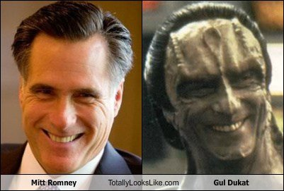 Mitt Romney & Gul Dukat Separated at Birth « SciFi TAKEOVER