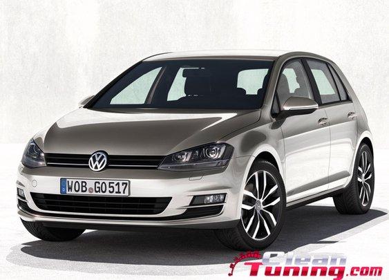Volkswagen Reveals The Seventh Generation Golf   CleanTuning.com