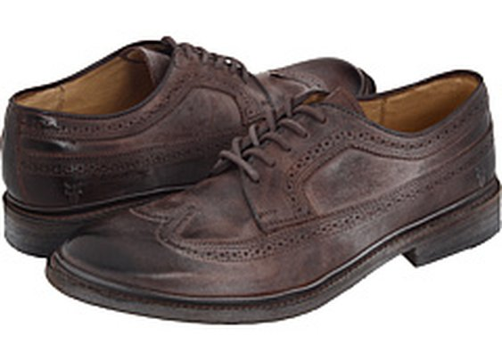 Frye James Wingtip Brown - Zappos.com