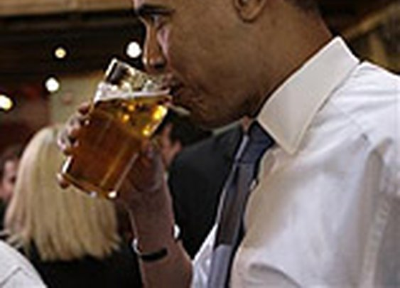 How to Drink Like President Obama: The Daily Details: Blog :  Details