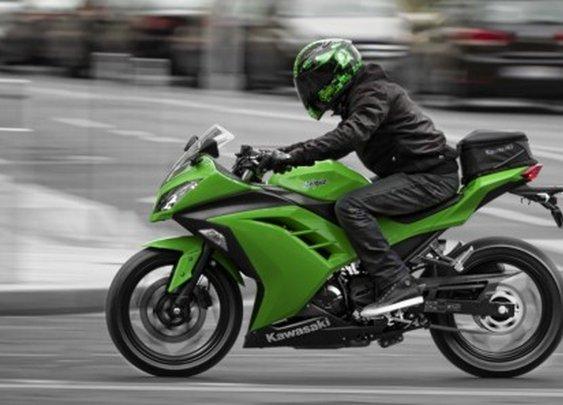 Kawasaki's 39 horsepower Ninja 300 bonsai superbike