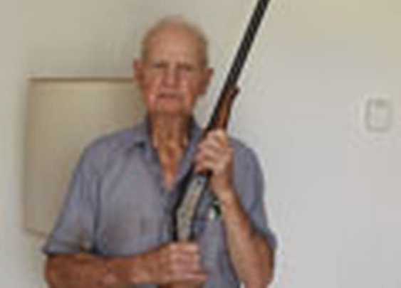 92 Year Old Defends Himself and Home from Attack