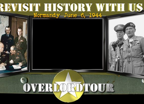 Overlordtour : battlefield tour in Normandy, D-Day Beaches, 6 june 1944 history, D-Day commemoration