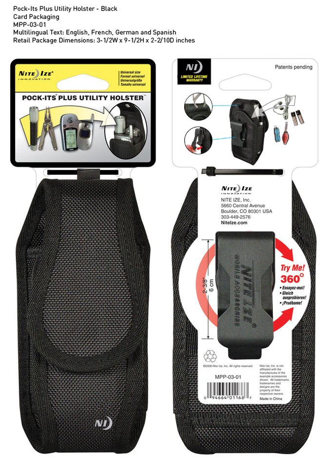 Pock-Its Plus Utility Holster
