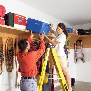 Garage Storage Ideas: Find Unused Space - Step by Step | The Family Handyman