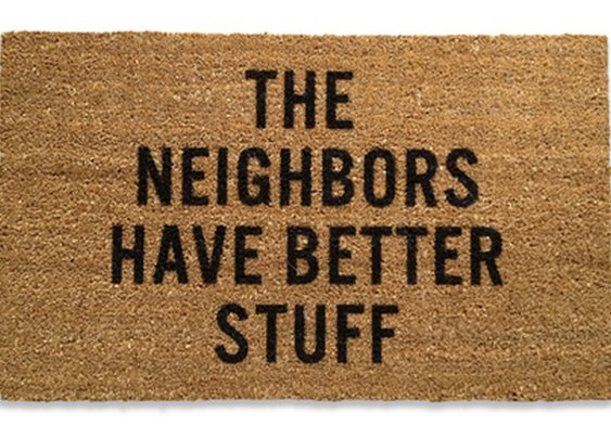 Best. Doormat. Ever.
