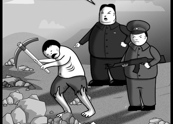 The primary difference between North and South Korea - The Oatmeal