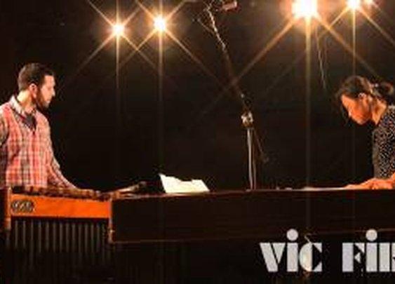 Schubert's Impromptu in Cm arranged for two marimbas