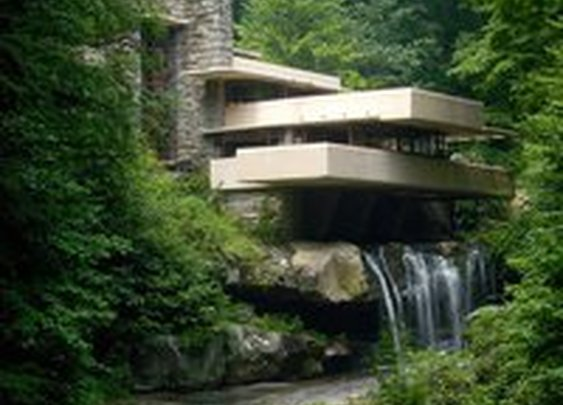 Fancy - Falling Water by Frank Lloyd Wright
