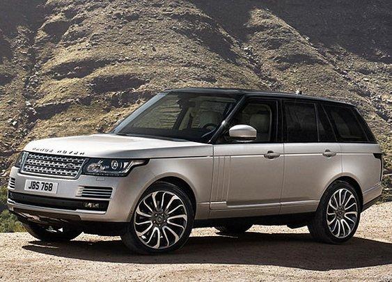 2013 Range Rover bows in London