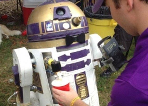 R2D2 Beer Keg