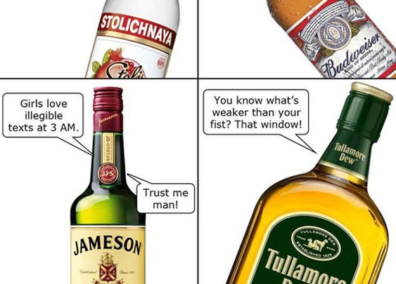 If Alcohol Could Talk, It Would Definitely Say This - Mandatory