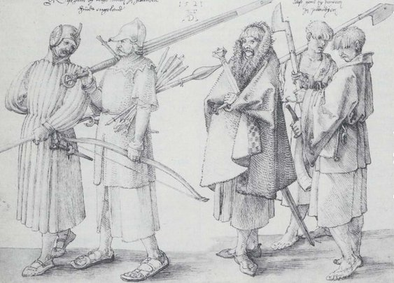 Gallowglass Warriors- The Medieval 'Expendables'