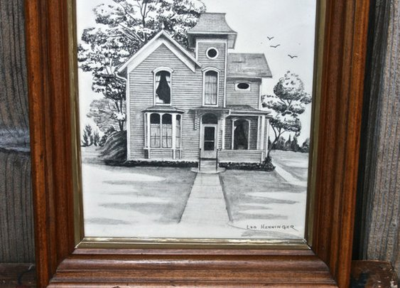 Petaluma Supply Co. - Vintage 1920's Dwelling Drawing