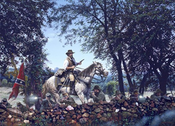 The Historic Art of John Paul Strain