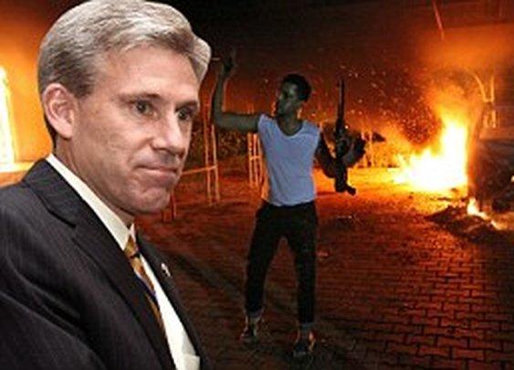 Christopher Stevens death: US ambassador killed in attack in Libya    Mail Online
