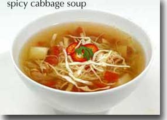 WHFoods: Spicy Cabbage Soup