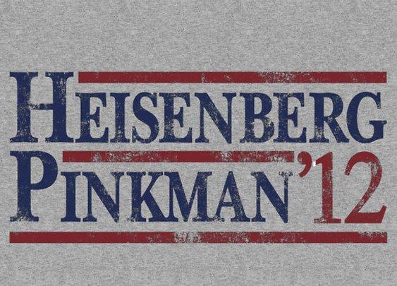 """Heisenberg Pinkman 2012"""