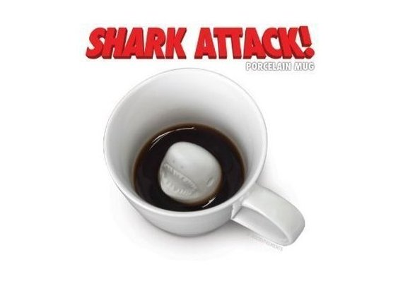 Shark Attack Mug: Amazon.com: Kitchen & Dining