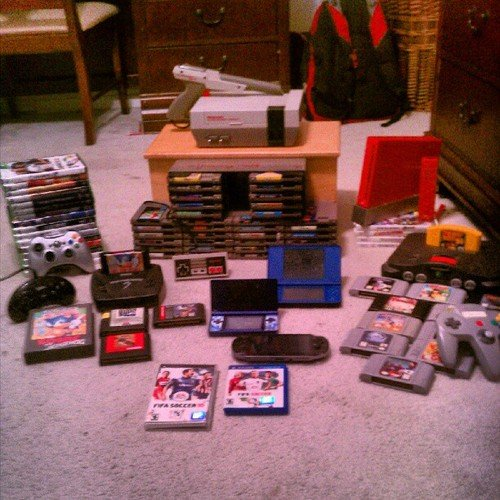 My Game Collection (Before)