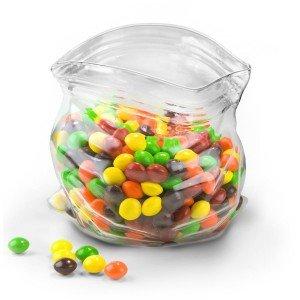 Unzipped Glass Bowl: Eye Catching Sweet Bowl | NomNomGadgets.com