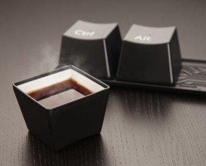 Ctrl-Alt-Delete Cup Set: Your Fave Keyboard Keys | NomNomGadgets.com