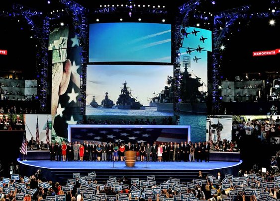 Russian ships displayed at DNC tribute to vets - Navy Times