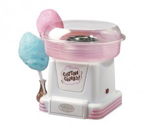 Cotton Candy Maker: Make Cotton Candy At Home | NomNomGadgets.com