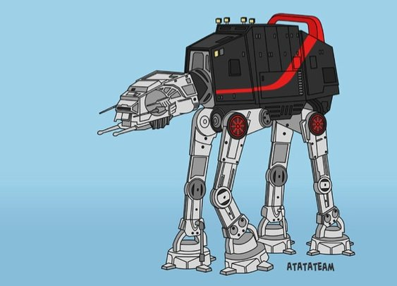 Star Wars + A-Team = ATATATEAM