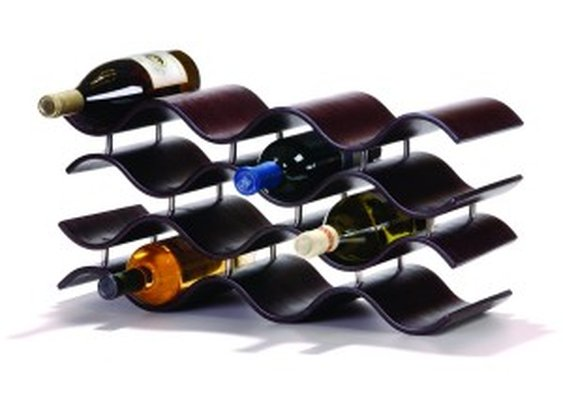 Contemporary Wine Rack: Display Wine In Style | NomNomGadgets.com