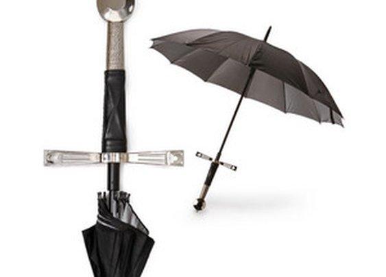 ThinkGeek :: Broadsword Handle Umbrella