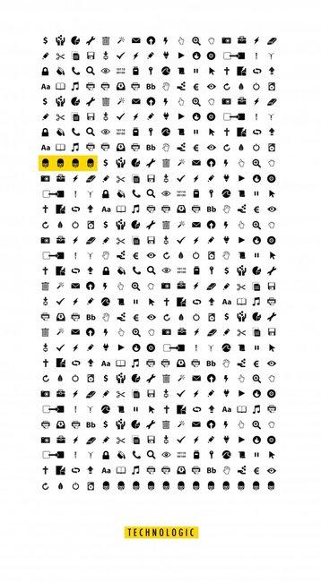 Lyrics in Icons