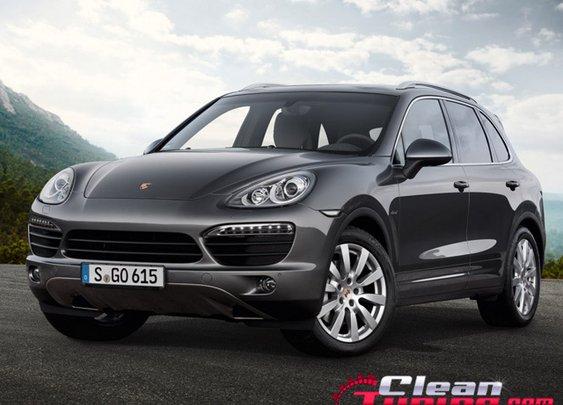 Porsche Introduces New Cayenne S Diesel   CleanTuning.com