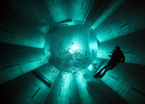 NEMO33, The Deepest Swimming Pool in the World
