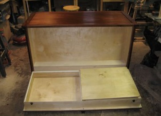 Dresser with Large Secret Compartment